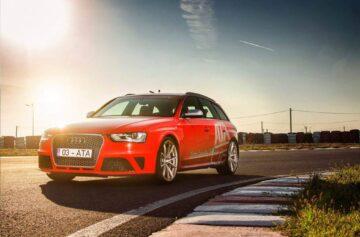 Expermenteaza Audi RS4 la Acdemia Titi Aur
