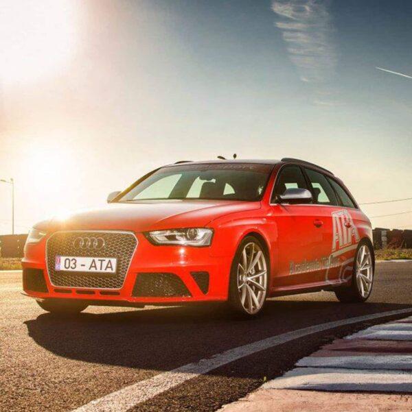 Experienta Audi RS 4