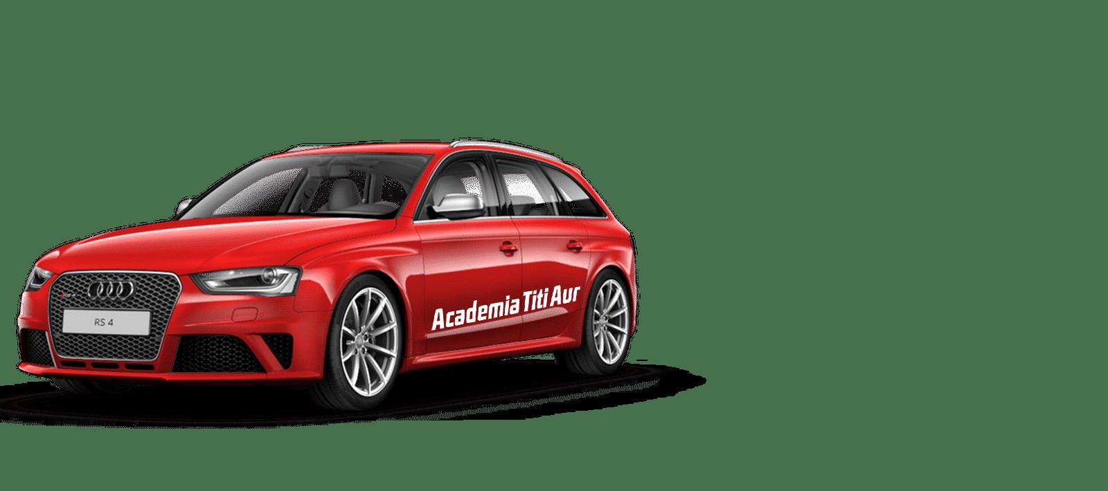 Expermenteaza Audi RS4
