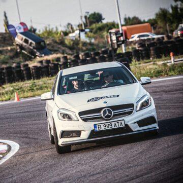 experianta Mercedes AMG la Acdemia Titi Aur