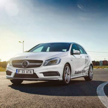 Conducere defensiva si experiente Mercedes AMG